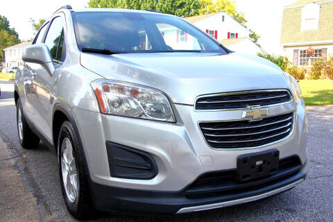 2015 Chevrolet Trax for sale at Prime Auto Sales LLC in Virginia Beach VA