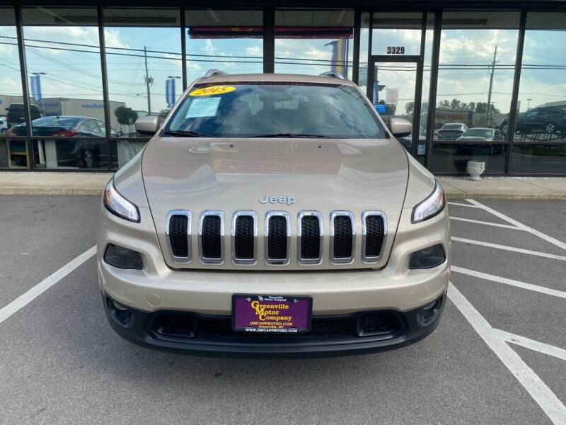 2015 Jeep Cherokee for sale at East Carolina Auto Exchange in Greenville NC