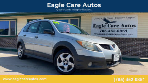 2004 Pontiac Vibe for sale at Eagle Care Autos in Mcpherson KS