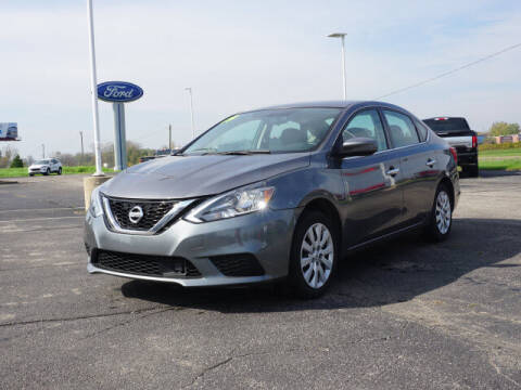 2019 Nissan Sentra for sale at FOWLERVILLE FORD in Fowlerville MI