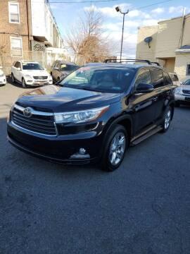 2014 Toyota Highlander for sale at Key & V Auto Sales in Philadelphia PA