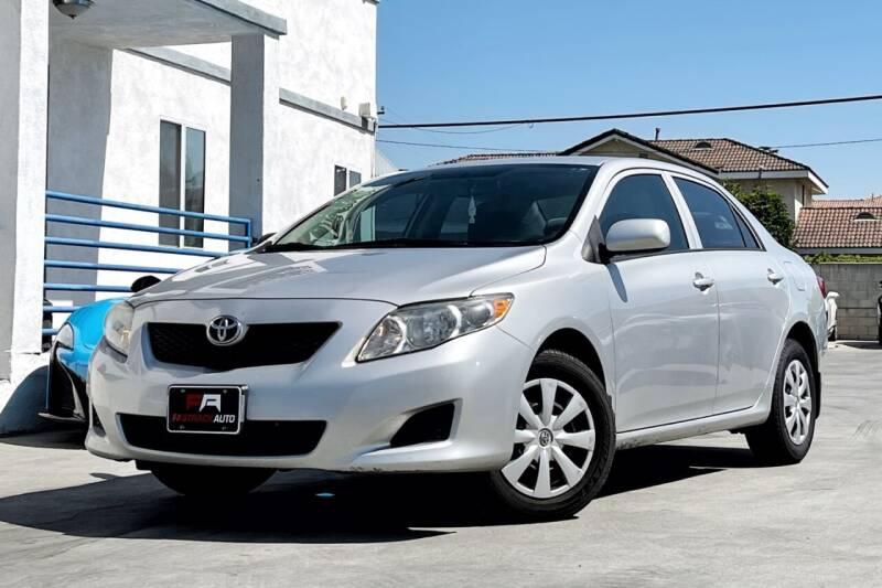 2010 Toyota Corolla for sale at Fastrack Auto Inc in Rosemead CA
