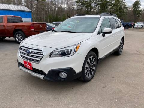 2015 Subaru Outback for sale at AutoMile Motors in Saco ME