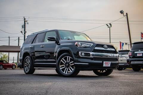 2015 Toyota 4Runner for sale at Jerrys Auto Sales in San Benito TX