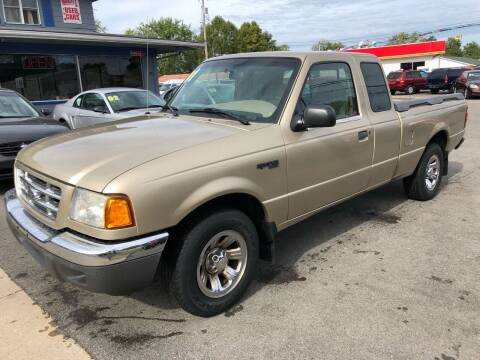 2001 Ford Ranger for sale at Wise Investments Auto Sales in Sellersburg IN