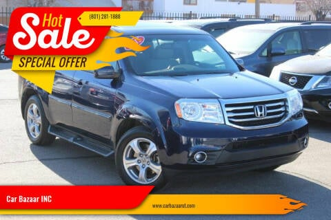 2015 Honda Pilot for sale at Car Bazaar INC in Salt Lake City UT