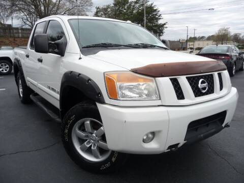 2011 Nissan Titan for sale at Wade Hampton Auto Mart in Greer SC