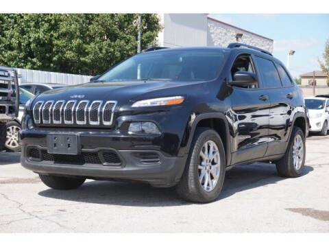 2017 Jeep Cherokee for sale at Credit Connection Sales in Fort Worth TX