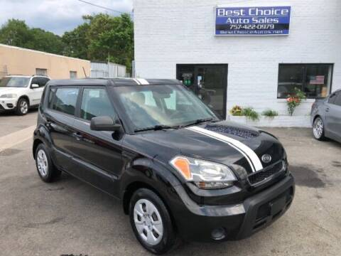 2011 Kia Soul for sale at Best Choice Auto Sales in Virginia Beach VA
