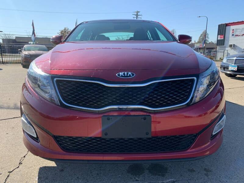 2015 Kia Optima for sale at Minuteman Auto Sales in Saint Paul MN