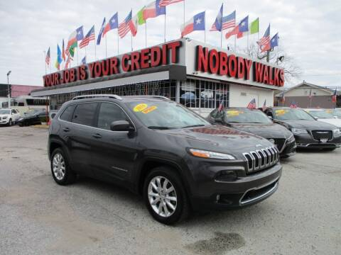 2016 Jeep Cherokee for sale at Giant Auto Mart 2 in Houston TX