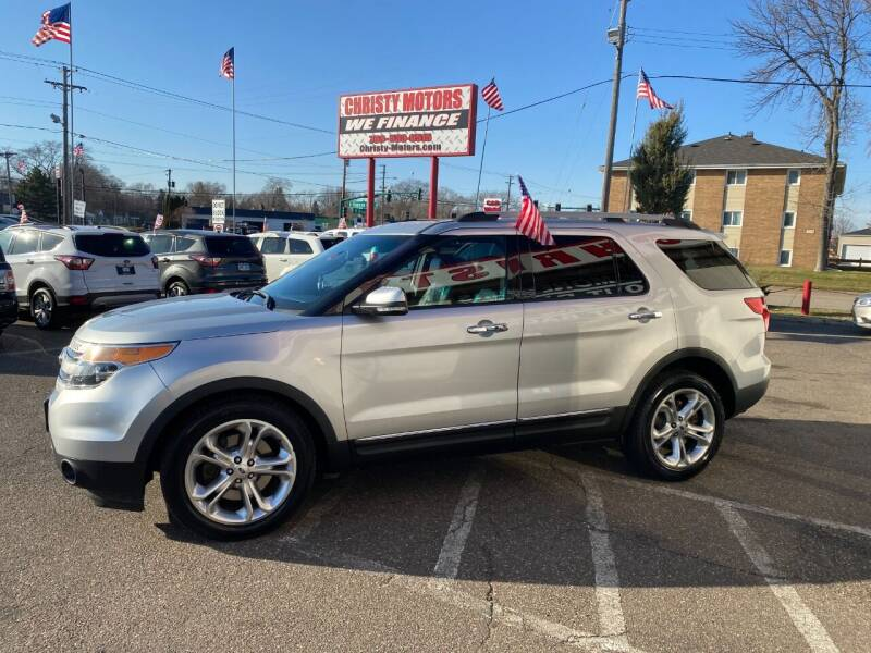 2013 Ford Explorer for sale at Christy Motors in Crystal MN