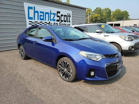 2015 Toyota Corolla for sale at Chantz Scott Kia in Kingsport TN