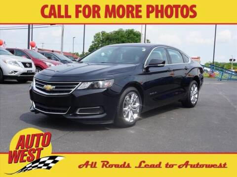 2016 Chevrolet Impala for sale at Autowest of Plainwell in Plainwell MI