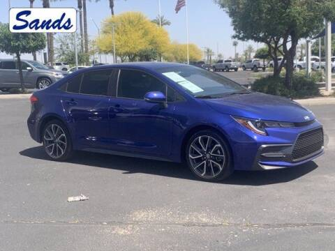 2020 Toyota Corolla for sale at Sands Chevrolet in Surprise AZ