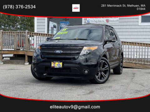 2015 Ford Explorer for sale at ELITE AUTO SALES, INC in Methuen MA