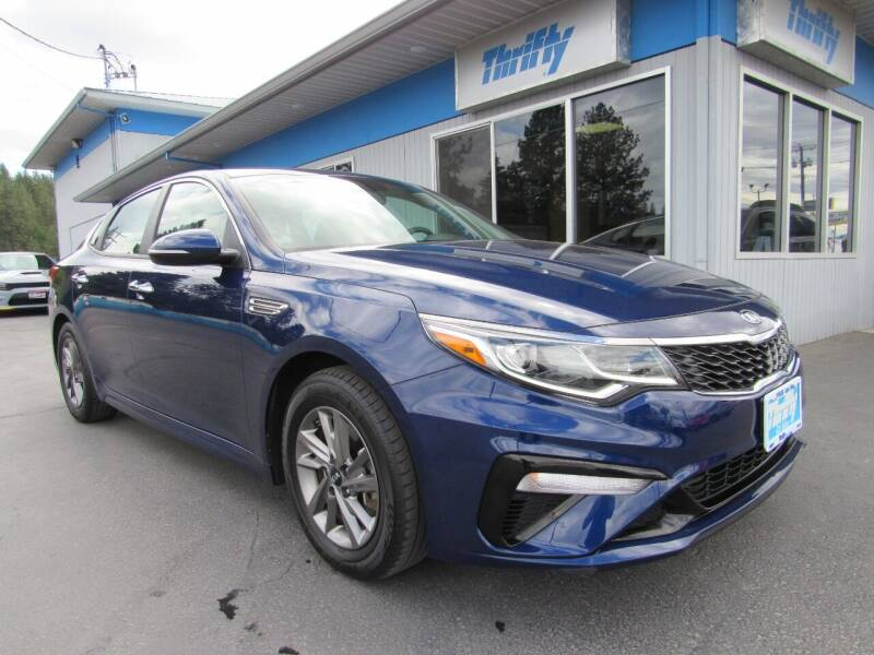 2019 Kia Optima for sale at Thrifty Car Sales SPOKANE in Spokane Valley WA