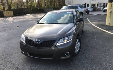 2011 Toyota Camry for sale at BRAVA AUTO BROKERS LLC in Clarkston GA