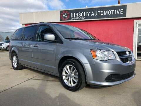 2016 Dodge Grand Caravan for sale at Hirschy Automotive in Fort Wayne IN