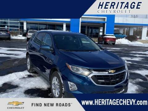 2019 Chevrolet Equinox for sale at HERITAGE CHEVROLET INC in Creek MI