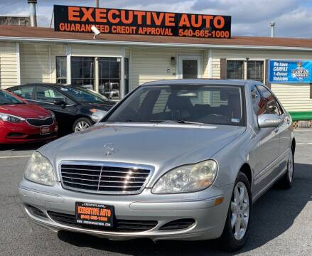 2005 Mercedes-Benz S-Class for sale at Executive Auto in Winchester VA