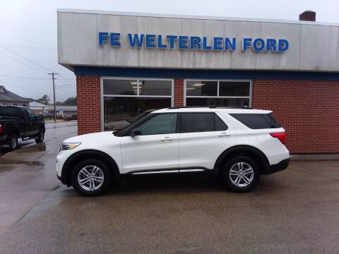 2021 Ford Explorer for sale at Welterlen Motors in Edgewood IA