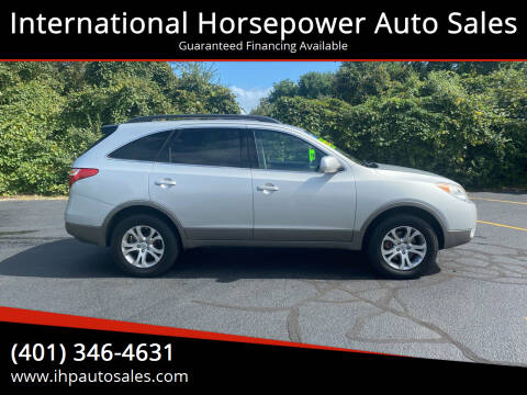 2011 Hyundai Veracruz for sale at International Horsepower Auto Sales in Warwick RI