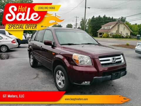 2008 Honda Pilot for sale at GT Motors, LLC in Elkin NC