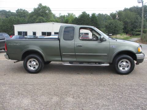 2002 Ford F-150 for sale at Hickory Wholesale Cars Inc in Newton NC