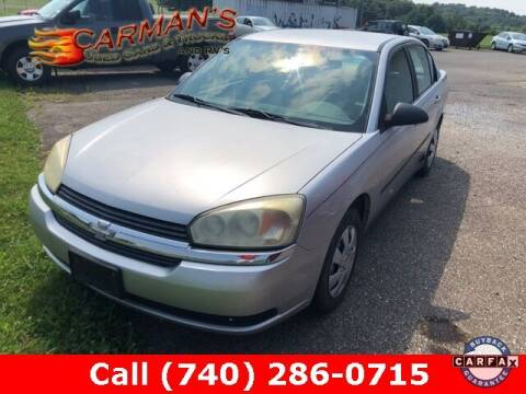 2005 Chevrolet Malibu for sale at Carmans Used Cars & Trucks in Jackson OH