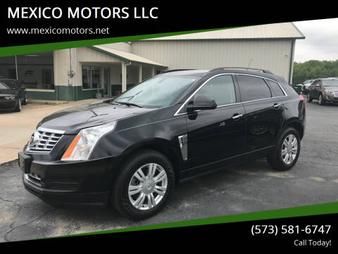 2015 Cadillac SRX for sale at MEXICO MOTORS LLC in Mexico MO