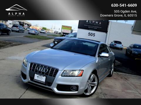 2010 Audi S5 for sale at Alpha Luxury Motors in Downers Grove IL