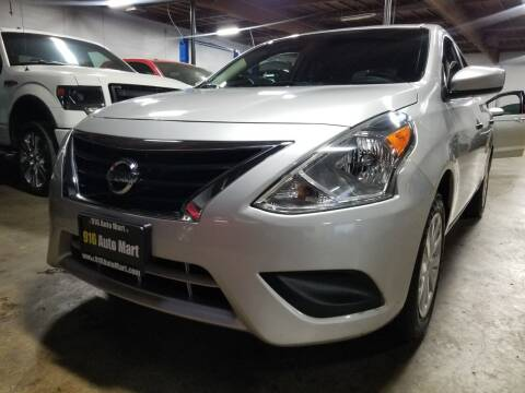 2019 Nissan Versa for sale at 916 Auto Mart ONLY $399 DOWN!!!* in Sacramento CA