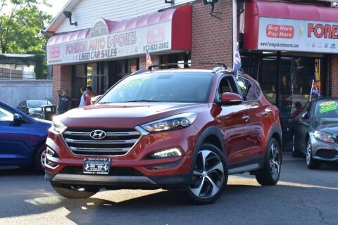 2017 Hyundai Tucson for sale at Foreign Auto Imports in Irvington NJ