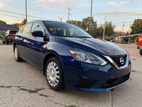 2017 Nissan Sentra for sale at Auto Gallery LLC in Burlington WI