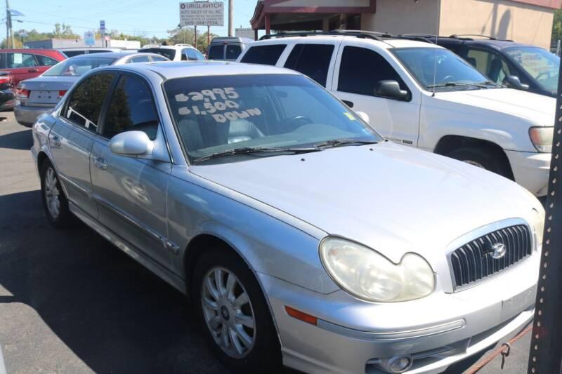 2004 Hyundai Sonata for sale at Urglavitch Auto Sales of NJ in Trenton NJ
