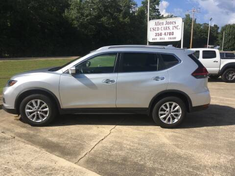 2020 Nissan Rogue for sale at ALLEN JONES USED CARS INC in Steens MS