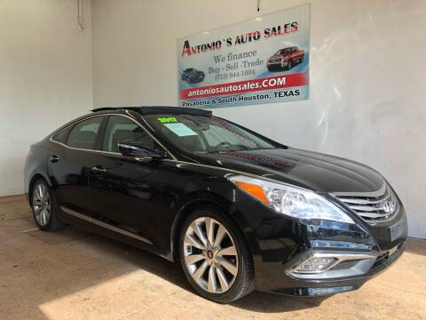 2017 Hyundai Azera for sale at Antonio's Auto Sales in South Houston TX