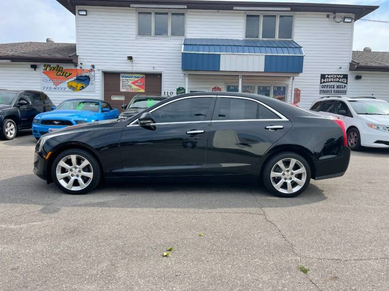 2014 Cadillac ATS for sale at Twin City Motors in Grand Forks ND