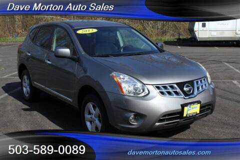 2013 Nissan Rogue for sale at Dave Morton Auto Sales in Salem OR