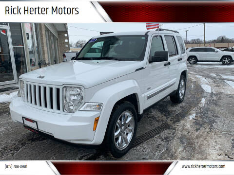 2012 Jeep Liberty for sale at Rick Herter Motors in Loves Park IL