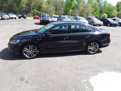 2018 Volkswagen Passat for sale at WALKER MOTORS LLC in Hattiesburg MS