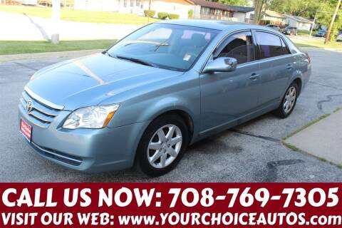 2007 Toyota Avalon for sale at Your Choice Autos in Posen IL