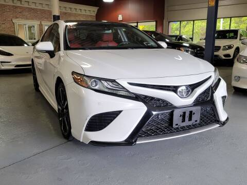 2018 Toyota Camry for sale at AW Auto & Truck Wholesalers  Inc. in Hasbrouck Heights NJ