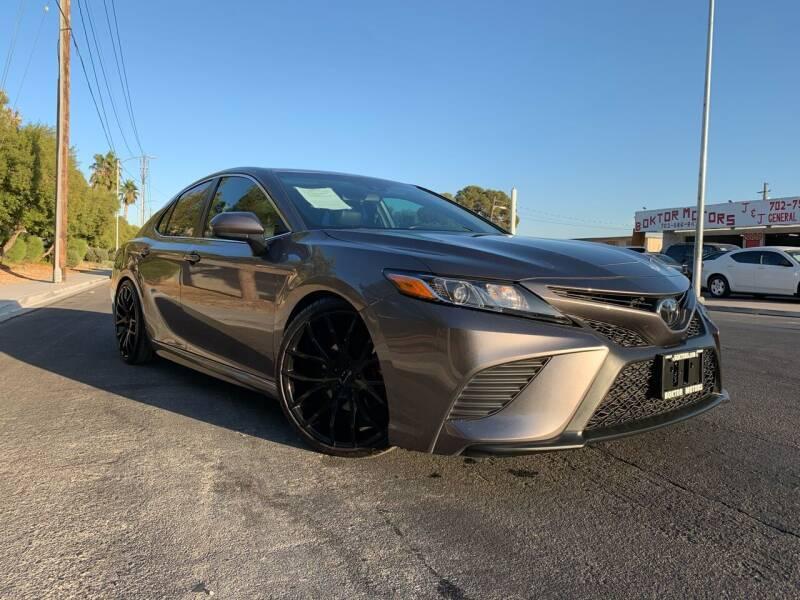 2018 Toyota Camry for sale at Boktor Motors in Las Vegas NV