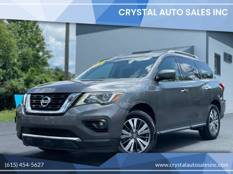 2017 Nissan Pathfinder for sale at Crystal Auto Sales Inc in Nashville TN