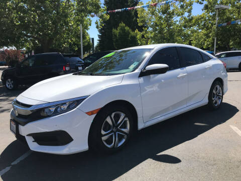 2016 Honda Civic for sale at Autos Wholesale in Hayward CA