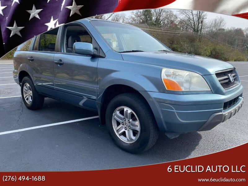 2005 Honda Pilot for sale at 6 Euclid Auto LLC in Bristol VA
