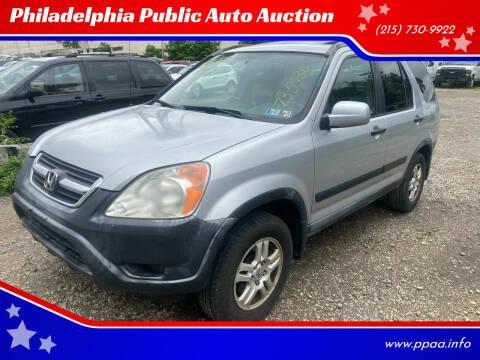 2002 Honda CR-V for sale at Philadelphia Public Auto Auction in Philadelphia PA
