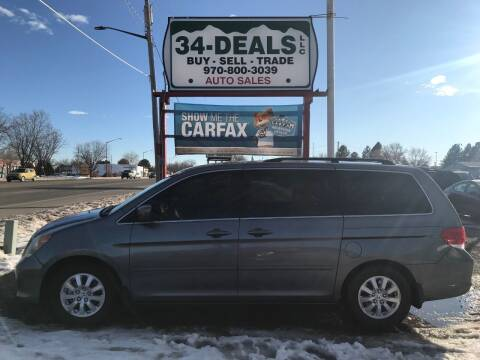 2009 Honda Odyssey for sale at 34 Deals LLC in Loveland CO
